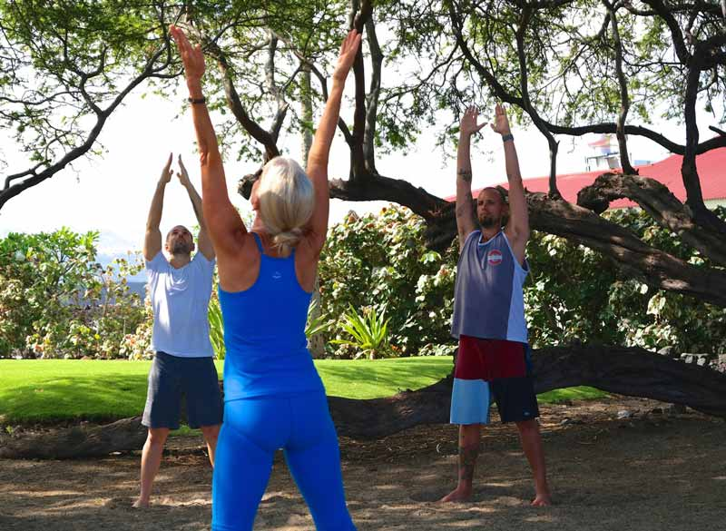 Waikoloa Yoga with Calley O'Neill